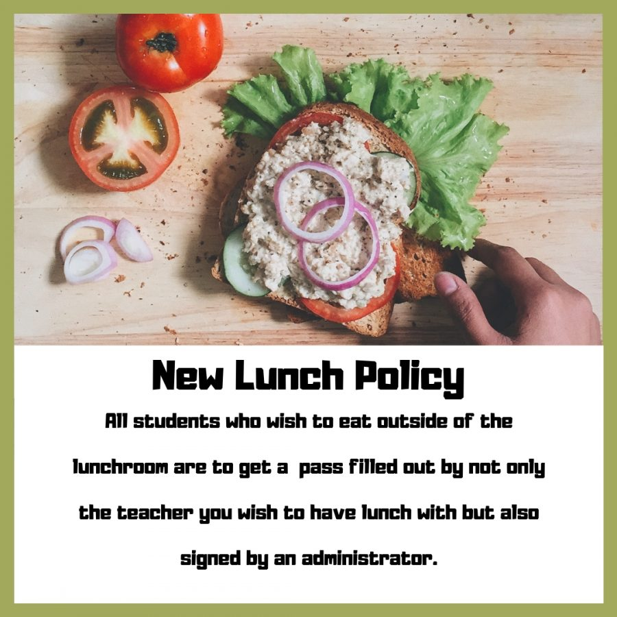 New lunch policy