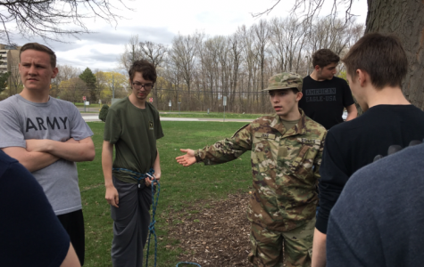 JROTC trains for competition