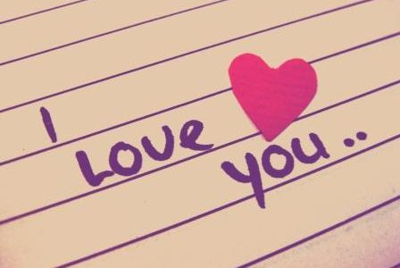 """I love to say """"I love you"""""""