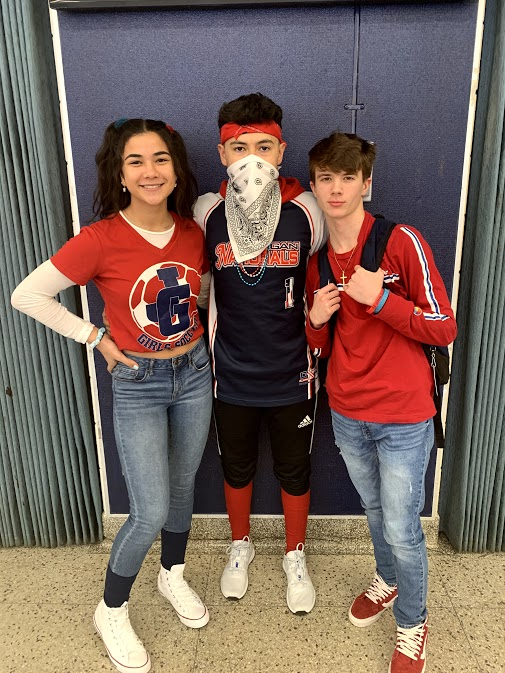 Red, White, and Blue Day 2/7/20