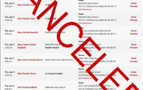 Players disappointed  after spring sports canceled