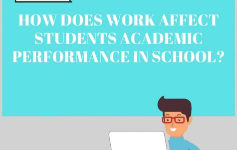 How does work affect performance at school?