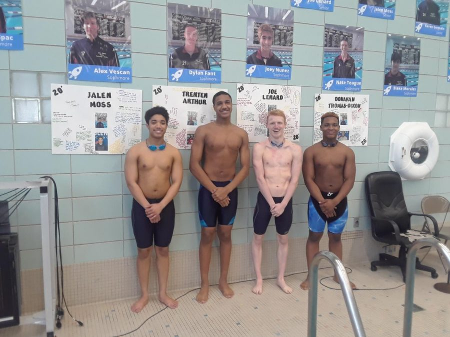 Spotlight on swim team seniors